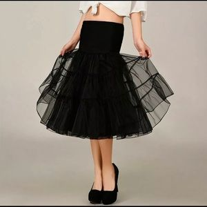 Dresses & Skirts - Women's 1950s Vintage Rockabilly Petticoat